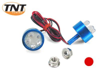 Led Lamp Tnt Blauw Rond Schroef M6*20 Rood