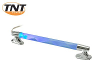 Led Lamp Buis Tnt Spiraal Chrome\/ Rood-Blauw