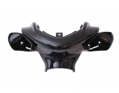 Handle cover front Yamaha Yamaha Aerox \/ Nitro black metallic