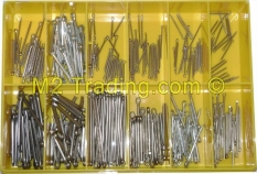 Assortment box split pins Stainless Steel 300 parts Bofix