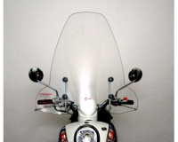 windshield faco sym mio 50-100cc including mounting