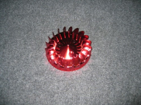 Koelvin Minarelli Red Anodised Tnt (Ventilator)