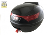topkoffer Kymco 32 liter diamond black