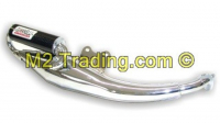 Exhaust Giannelli Extra Chroom Piaggio Sr 2000