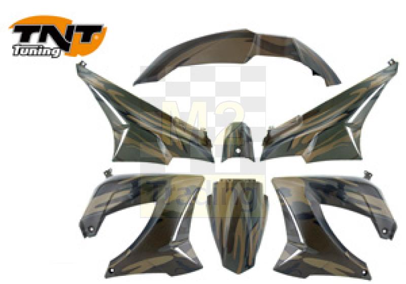 M2 Trading Verkleidung Derbi Senda Tnt Camouflage