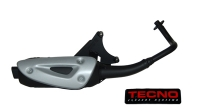 Exhaust Complete modelstandard straight lx 4t black tecno
