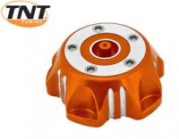 Tankdop Pitbike Orange Anod Tnt