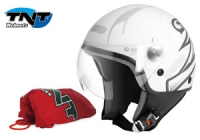Helm Tnt Free Road Maat: Xl Mat Wit