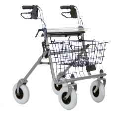 Caremart Rollator standaard Basic Grey