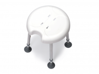Shower Stool Delphi Plus Drive with 1 Hygienic Recess