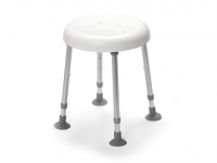 Shower Stool Delphi Drive without Hygienic Recess