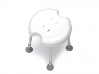 Shower Chair Delphi 2 Plus Drive with 2 Hygienic Recesses