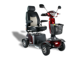 Scooter Excel Galaxy kompakt Tuscan rot