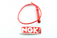 Bougiekabel Ngk Racing Rood Incl Dop Cr3 Recht