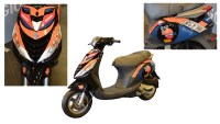 stickerset zip2000 zwart repsol