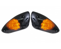 Led knipperlicht set voor , Yamaha Aerox MBK Nitro Black Edition