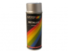 Motip Metallic Lak Zilver 400Ml