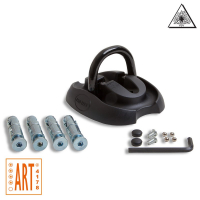 Floor wall anchor ART-4 black