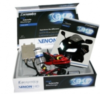 Xenon kit scooter BA20D 6000K