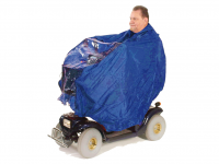 Rain poncho for scooter Drive color blue