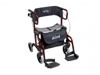 Rollator and transport wheelchair in one Drive Diamond Deluxe