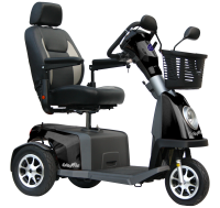 Scootmobiel Excel Galaxy Plus 3 Black Showroom model