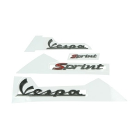 stickerset Vespa Sprint smoke 4-delig
