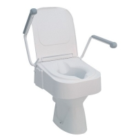 Raised Toilet Seat TSE 150 Drive with armrest