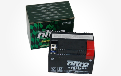 Top Offer NITRO gel battery 12V 4AH Normal €25,95 now €17,95