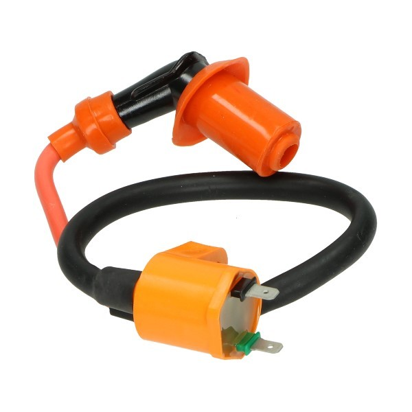 Ignition coil Fast 4-takt GY-6 Kymco orange