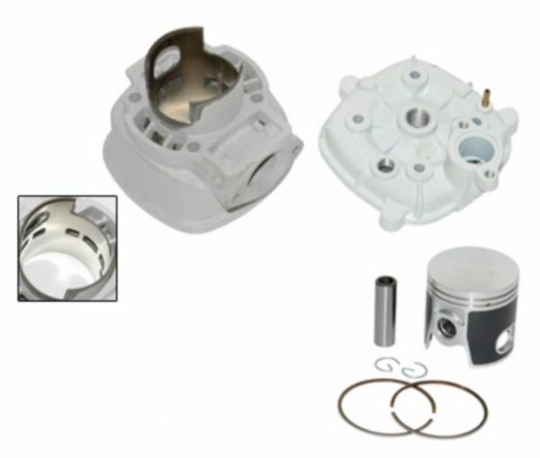 Cilinder + cilinderkop big bore Piaggio LC 50mm kaisoku