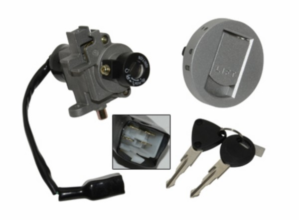 Contactslot set Peugeot Speedfight 3 en 4 DMP