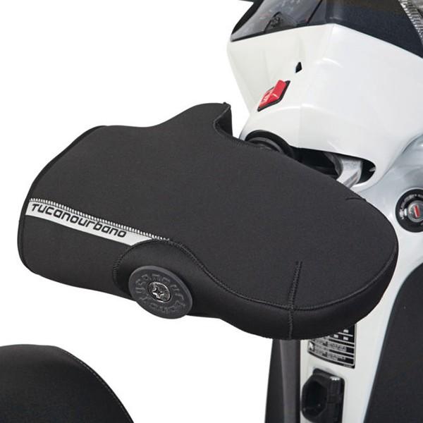 handmofset + stuurbalansgewicht neoprene snel montage Tucano protectie rand r363