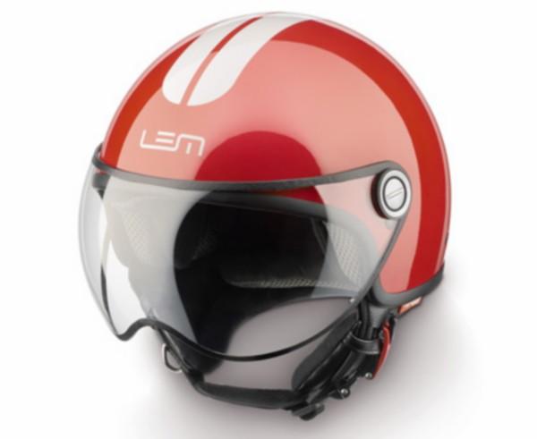 Jethelm L 58 rood wit Lem go fast model Roger
