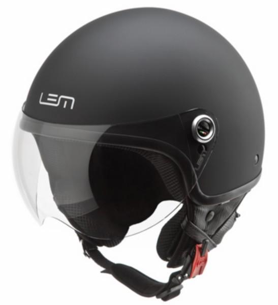 Jethelm XL 59 zwart mat Lem powder model Roger