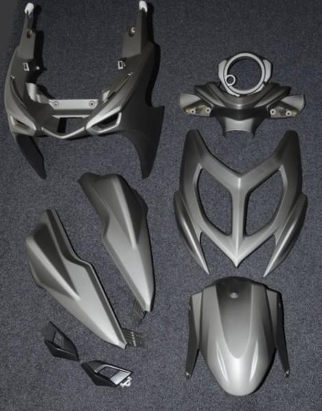 Kappenset Yamaha Aerox 2013 antraciet DMP