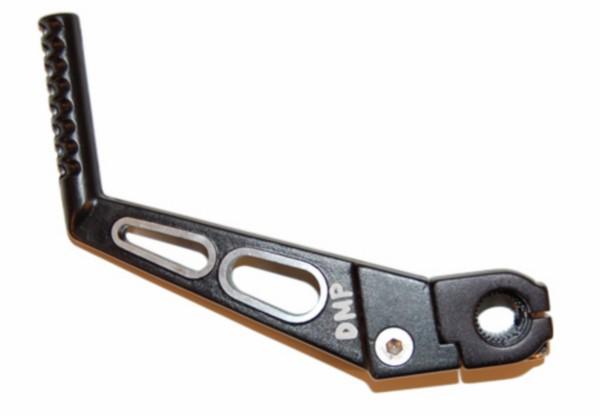 Kickstartpedaal 2-gaats Minarelli am6 zwart aluminium DMP