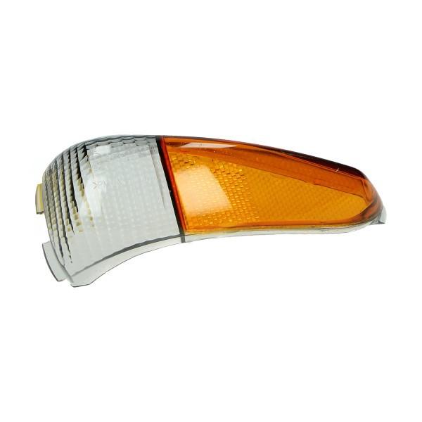Knipperlichtglas Gilera Runner pro smoke rechts achter Piaggio origineel 584021