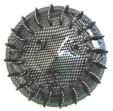 Koelvin vliegwiel Minarelli Horizontaal carbon DMP