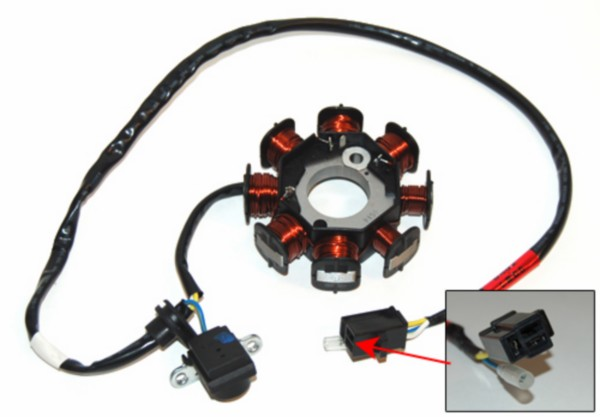 Ignition stator Kymco Agility, Dink 4Takt original quality