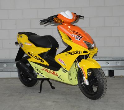 Plaatwerkset met malossi kleuren Yamaha aerox MBK nitro DMP 11-delig