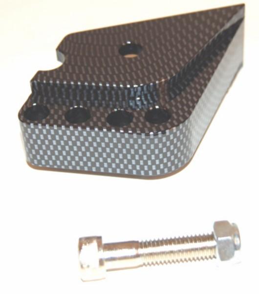 Schokbrekerverlenger verstelbaar Minarelli carbon DMP