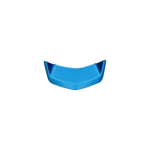 Sierstrip voorscherm midden Vespa Elettrica blauw boven Piaggio origineel cm297805