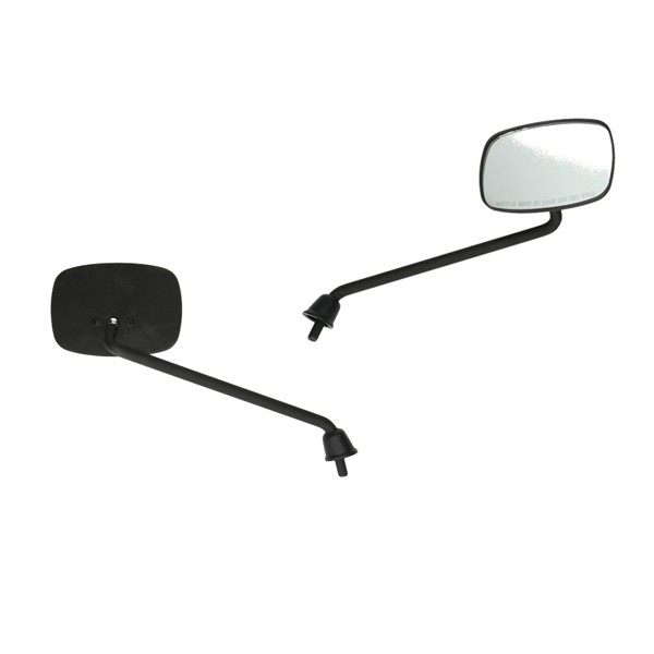 Mirror long Vespa S matt black original model