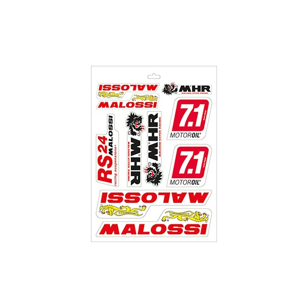 Sticker set RST universal Malossi 339780.16 10-delig