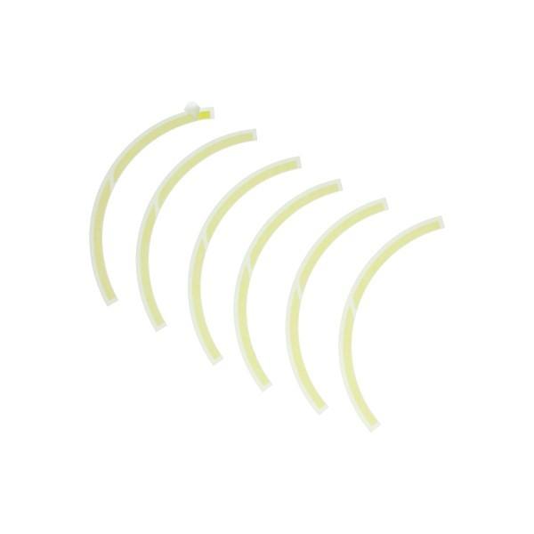 Stickerset voorwiel Vespa elettrica geel Piaggio origineel 2h002849000a6
