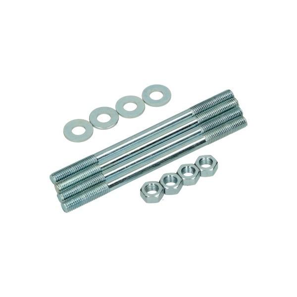 tapeind cilinder + moer en ringen minarelli horizontaal DMP 4 stuks