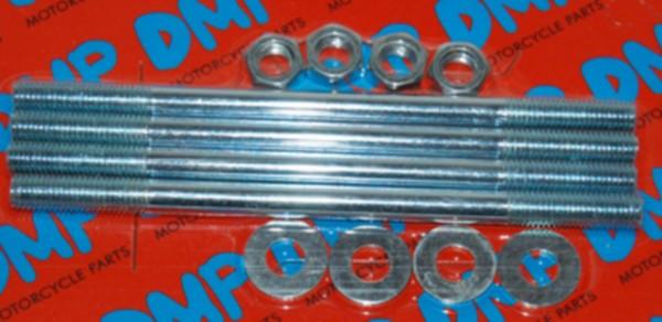 Tapeind Cilinder + moer sen Tomos Zundapp m7x120mm DMP 4pcs