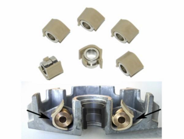 Variorollen 10.0gr maat 16x13mm tech pulley