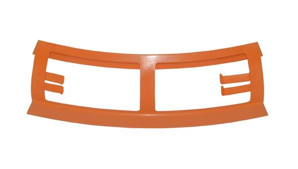 Verbindingsstuk frame achterspatbord 1968-1972 Kreidler oranje